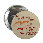 Bat Country 2.25&quot; Button (10 pack)