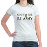 CSM - Proud of my soldier Jr. Ringer T-Shirt