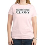 LTC - Proud of my soldier Women's Pink T-Shirt