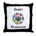 Hanukkah Chanukah Throw Pillow
