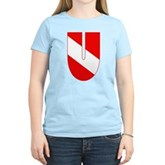 Scuba Flag Letter U Women's Light T-Shirt