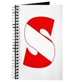 Scuba Flag Letter S Journal