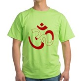 Scuba Flag Om / Aum Green T-Shirt