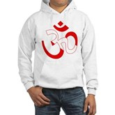 Scuba Flag Om / Aum Hooded Sweatshirt