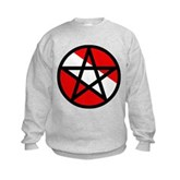Scuba Flag Pentagram Kids Sweatshirt