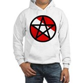 Scuba Flag Pentagram Hooded Sweatshirt