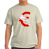 Scuba Flag Euro Sign Light T-Shirt