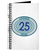 25 Logged Dives Journal