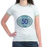 50 Logged Dives Jr. Ringer T-Shirt