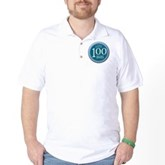 100 Dives Milestone Golf Shirt