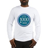 1000 Dives Milestone Long Sleeve T-Shirt