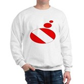 Thought Bubble Dive Flag Sweatshirt
