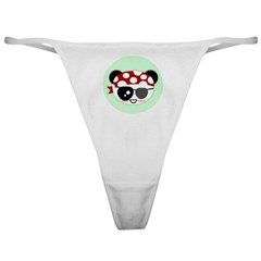 Pirate Panda Classic Thong