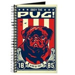 Obey the Black Pug! propaganda Journal