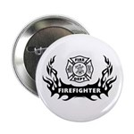 "Fire Dept Tattoos 2.25"" Button"