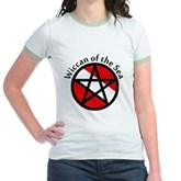 Wiccan of the Sea Jr. Ringer T-Shirt