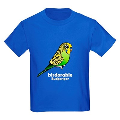 Birdorable Budgie Kids Dark T-Shirt
