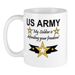 Army My Soldier is defending Mug
