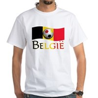 TEAM BELGIE DUTCH White T-Shirt