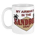 Airman Sandbox Air Force Mug