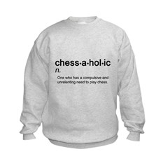 Chessaholic Kids Sweatshirt