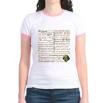 Shakespeare Insults T-shirts & Gifts Jr. Ringer T-Shirt