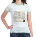 Shakespeare Insults Jr. Ringer T-Shirt