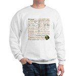 Shakespeare Insults T-shirts & Gifts Sweatshirt