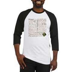 Shakespeare Insults T-shirts & Gifts Baseball Jersey