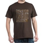Shakespeare Insults T-shirts & Gifts Dark T-Shirt