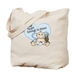 My Heart Belongs to Nonni BOY Tote Bag