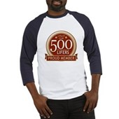 Lifelist Club - 500 Baseball Jersey