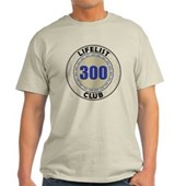 Lifelist Club - 300 Light T-Shirt
