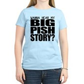 BIG PISH Story Women's Light T-Shirt