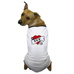 Tattoo Mom Dog T-Shirt