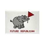 Future Republican Rectangle Magnet (100 pack)