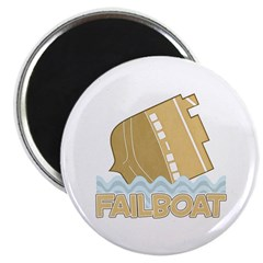 Fail Boat Magnet
