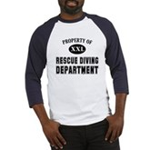 Rescue Diving Department Baseball Jersey