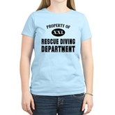 Rescue Diving Department Women's Light T-Shirt