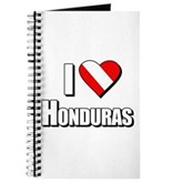  Scuba: I Love Honduras Journal