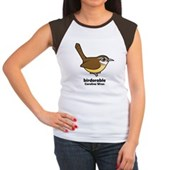 Birdorable Carolina Wren Women's Cap Sleeve T-Shir