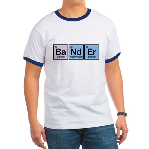 Bander made of elements Ringer T-Shirt