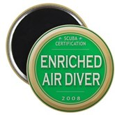Certified Nitrox Diver 2008 Magnet