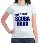 Scuba Hard Jr. Ringer T-Shirt