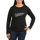 Scubaholic Women's Long Sleeve Dark T-Shirt