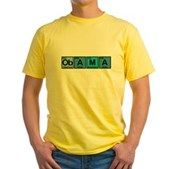 Obama Elements Yellow T-Shirt