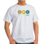 Light T-Shirt : Sizes Small,Medium,Large,X-Large,2X-Large,3X-Large  Available colors: Natural,Ash Grey,Light Blue