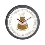 Bachelorette Party in Progress Wall Clock