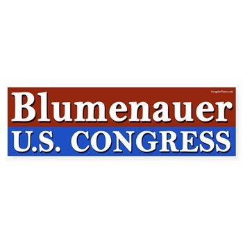 Re-Elect Earl Blumenauer Bumper Sticker