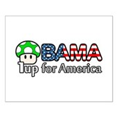 Obama 1up for America Small Poster